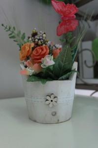 Composizione fiori 10x10 circa