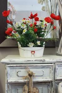 Composizione tulipani 20x10 circa